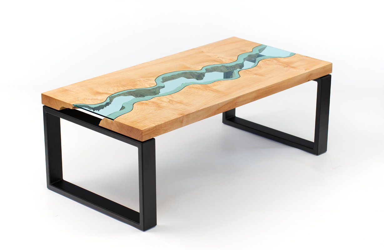 Gorgeous furniture greg klassen creative safari for Table verre et bois
