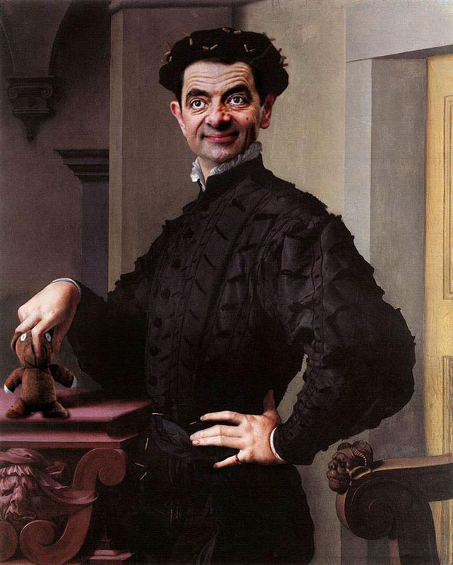 rodney-pike-photoshop-mr-bean-into-famous-paintings-1