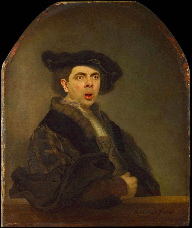 rodney-pike-photoshop-mr-bean-into-famous-paintings-8
