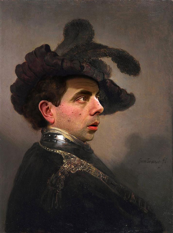 rodney-pike-photoshop-mr-bean-into-famous-paintings-9