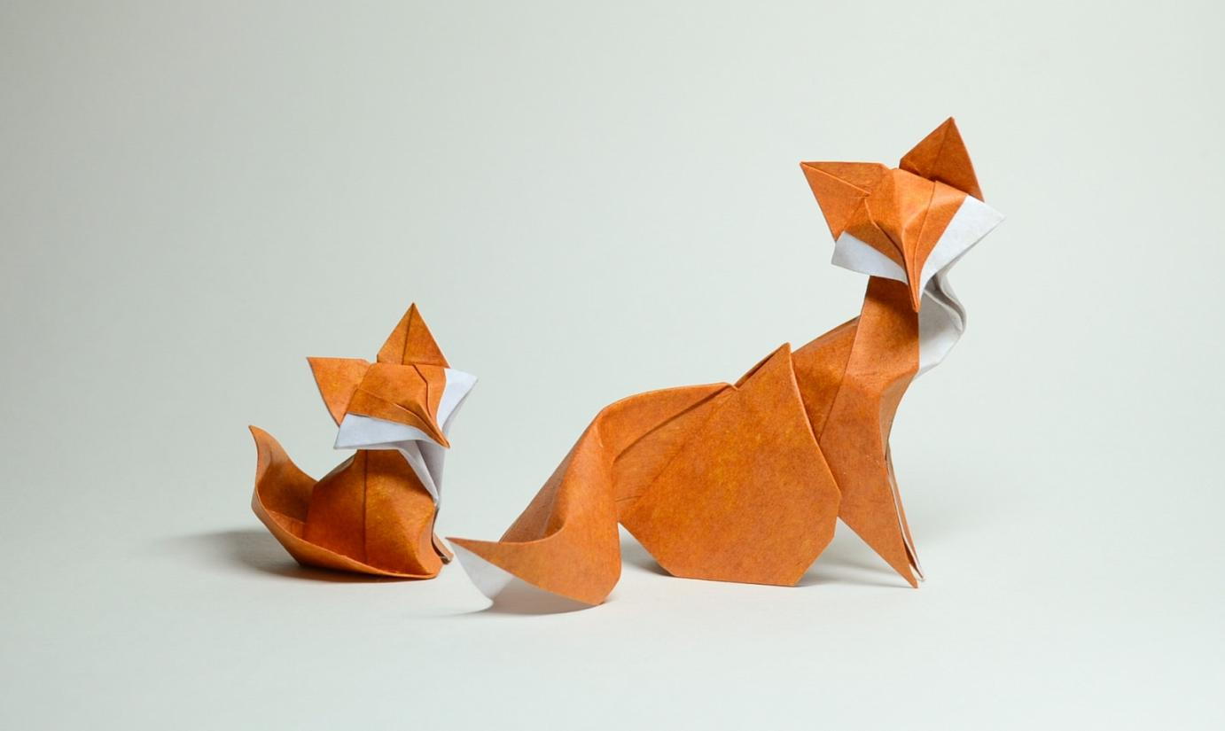 Wet fold origami by hoang tien quyet creative safari wet fold origami by hoang tien quyet jeuxipadfo Images