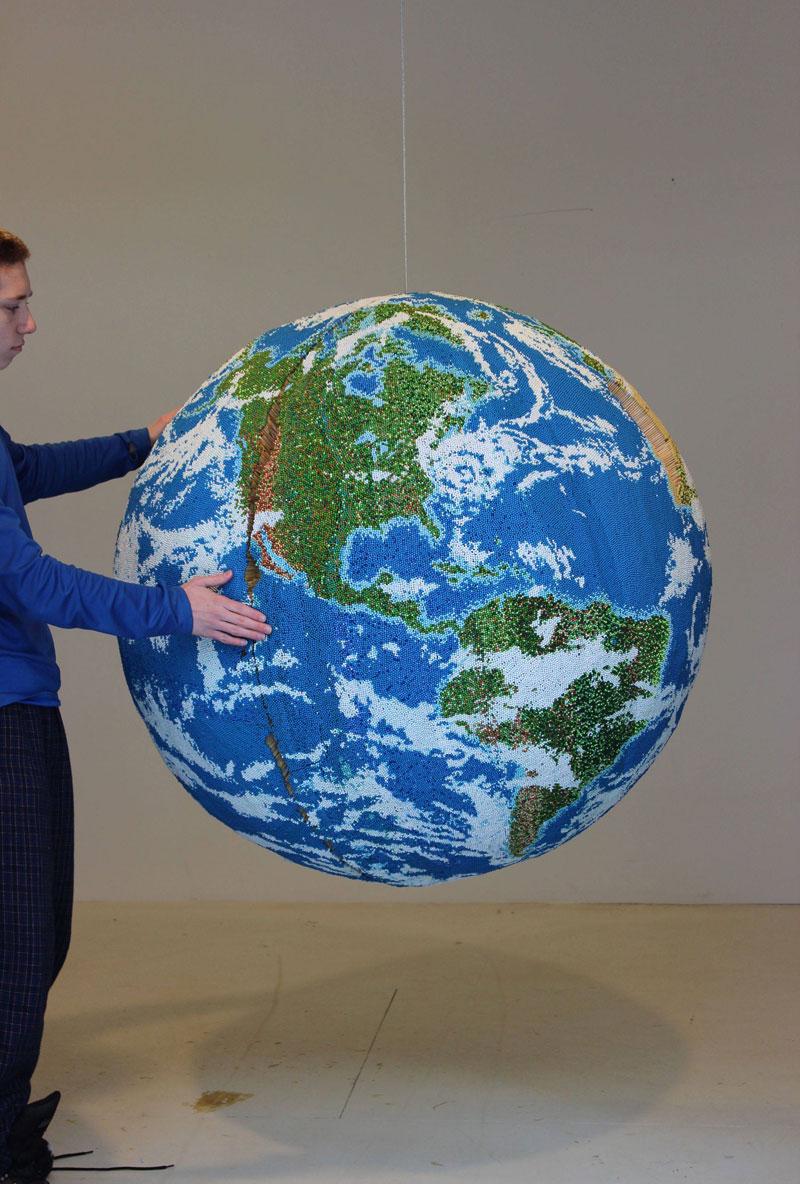 Как сделать макет планеты из бумаги