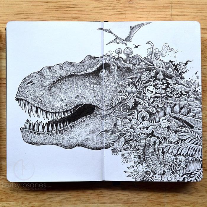 Doodling – Kerby Rosanes | Creative Safari