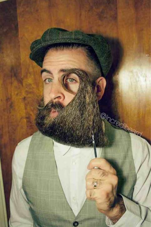 Mr Incredibeard Creative Safari - Incredibeard glorious beard