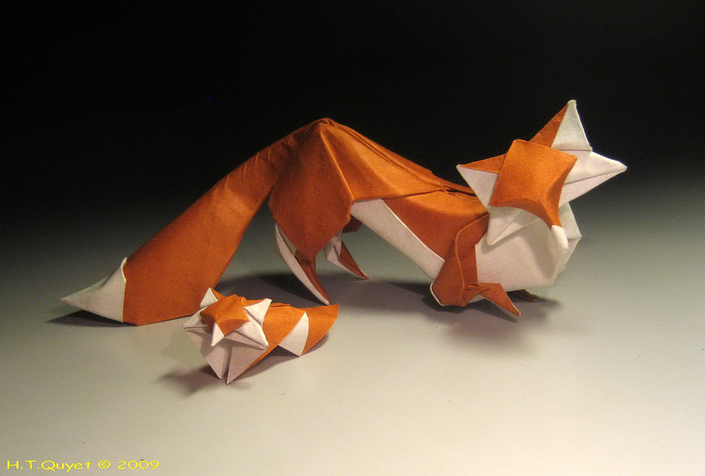 Wet Fold Origami By Hoang Tien Quyet Creative Safari