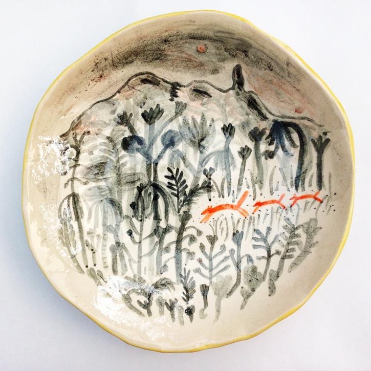 Alex Sickling S Illustrated Ceramics Creative Safari